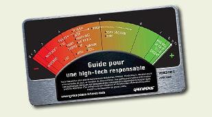 """9e Guide Greenpeace """"Pour une high-tech responsable"""""""