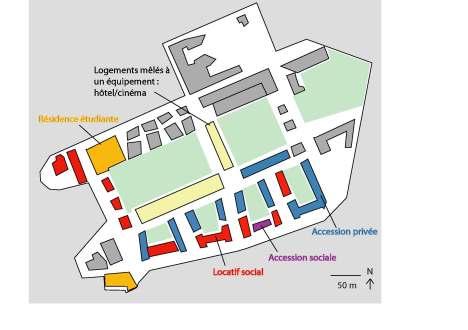 4- Répartition spatiale des logements sociaux